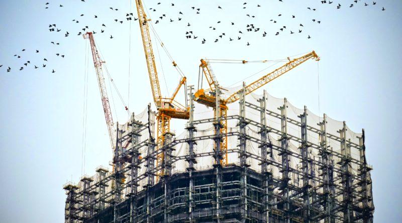 PIB da construção em 2020