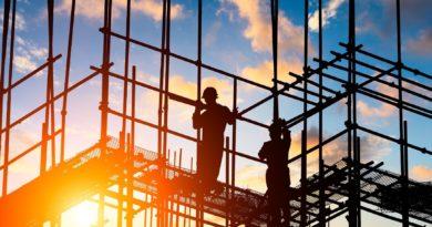 construção civil em abril atinge menor nível